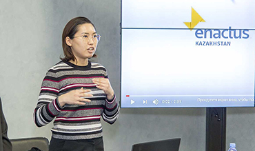 The international project Enactus presented for the Academy students