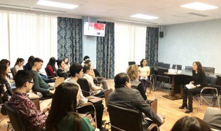 Студенческое Научное Общество Академии провели очередное заседание в формате «Science skills»