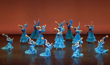 The V Republican competition of the kazakh dance named after Shara Zhiyenkulova