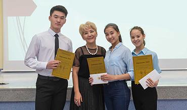 Наши воспитанники стали обладателями специального приза по личной инициативе балерины Гульнары Капановой