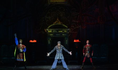 "Nurlan Kanetov performed one of the main roles in the ballet ""Golden Horde"" in Kazan"
