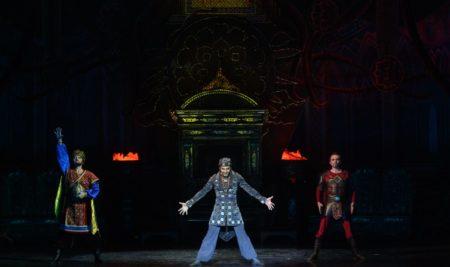 "Nurlan Kanetov performed one of the main roles in the ballet ""Golden Horde"" in Kazan"