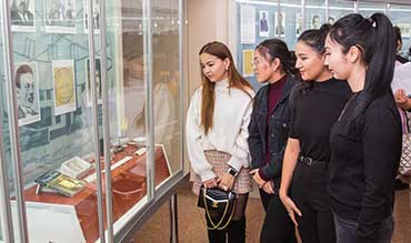 """Academy's students visited the """"camp of women's tears"""""""