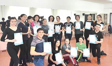 Kazakh dance master class for choreographers of Zhambyl region