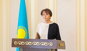 Отчётная встреча ректора Асылмуратовой А.А. по итогам 2020-2021 учебного года